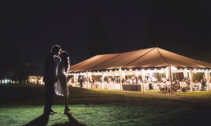 Rock creek country club wedding catering wedding for Wedding dress rentals portland oregon