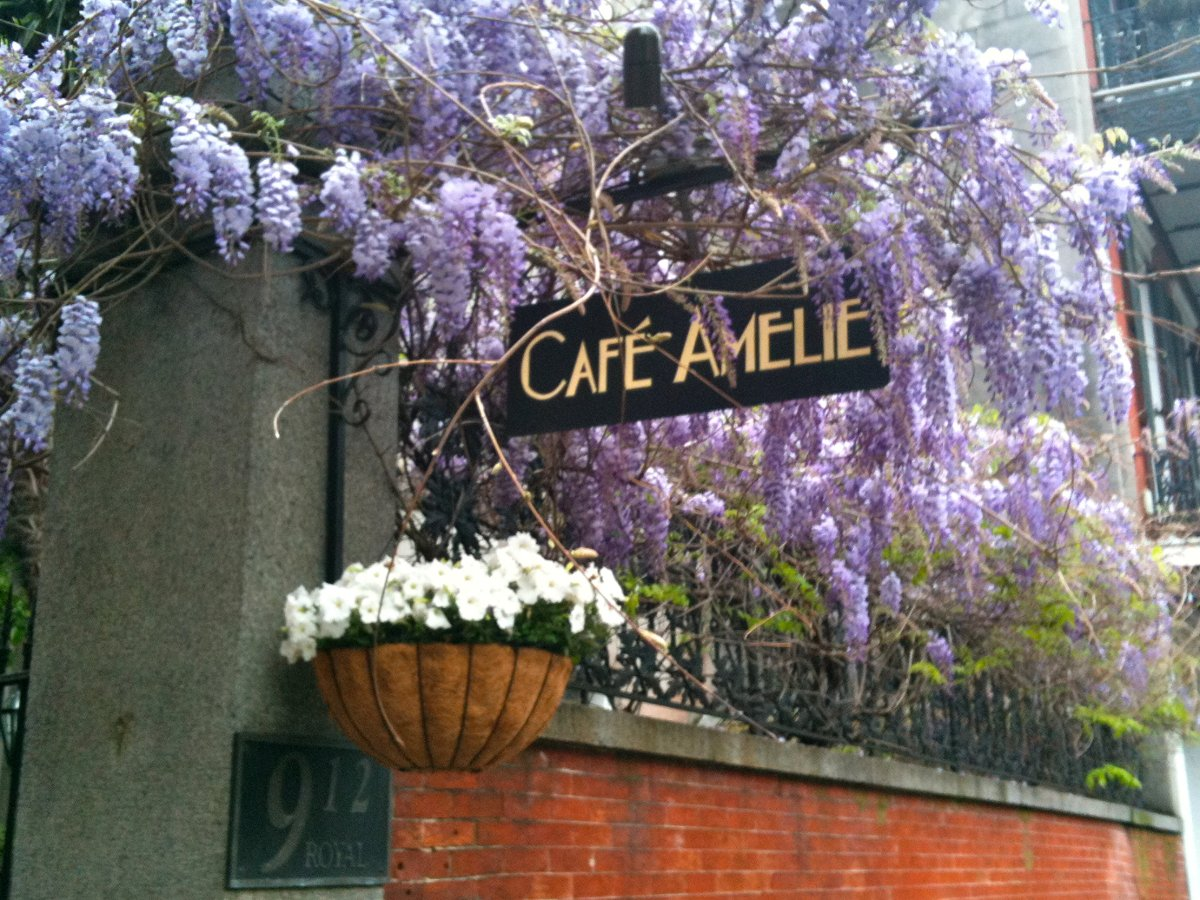 Cafe Amelie At The Princess Of Monaco Courtyard And