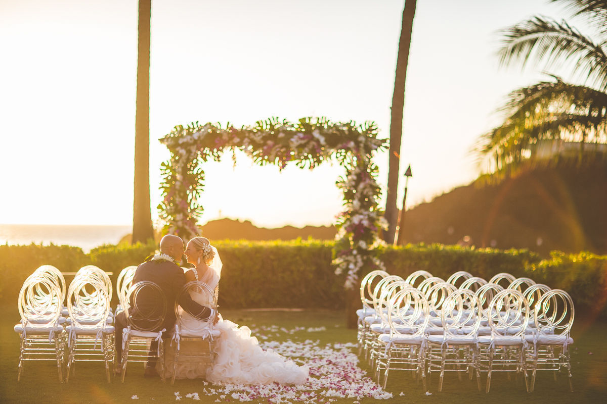 Sheraton maui resort spa wedding ceremony reception for Maui wedding locations