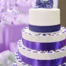 130x130 sq 1262277315846 purplefavorcakewithrealcaketoppercopy