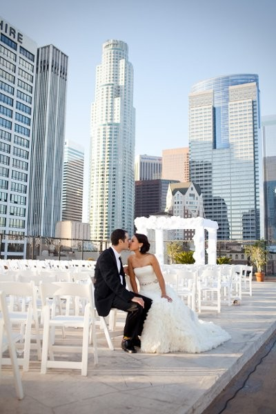 The Los Angeles Athletic Club Wedding Ceremony