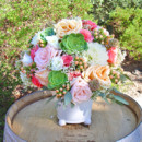 130x130 sq 1426288742668 garden rose succulent ceremony wedding flowers par