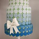 130x130 sq 1313082434504 bluedotbowweddingcake