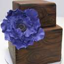 130x130 sq 1313082470254 paintedwoodgrainweddingcake