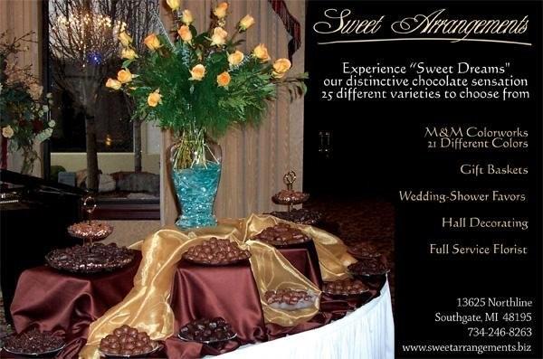 Wedding Flowers Flint Mi : Sweet arrangements wedding flowers michigan detroit