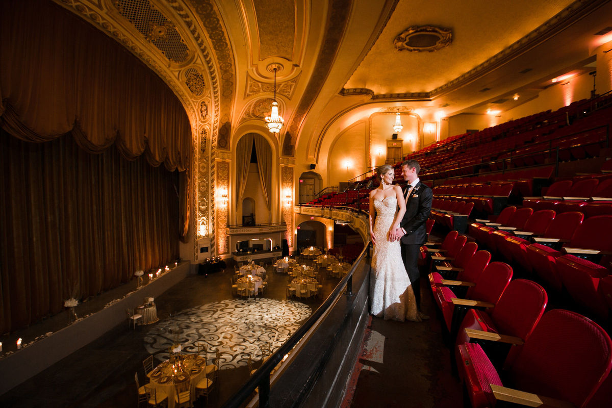 The orpheum theater wedding ceremony reception venue for Wedding dress rental tampa