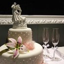 130x130 sq 1234058293593 weddingcake glasses