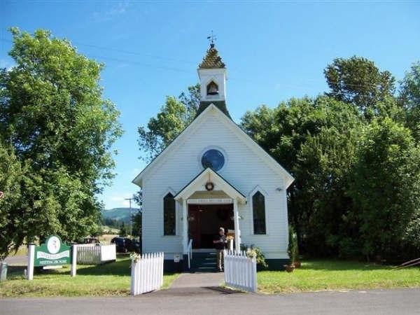 Cloverdale Chapel Amp Meetinghouse Wedding Ceremony