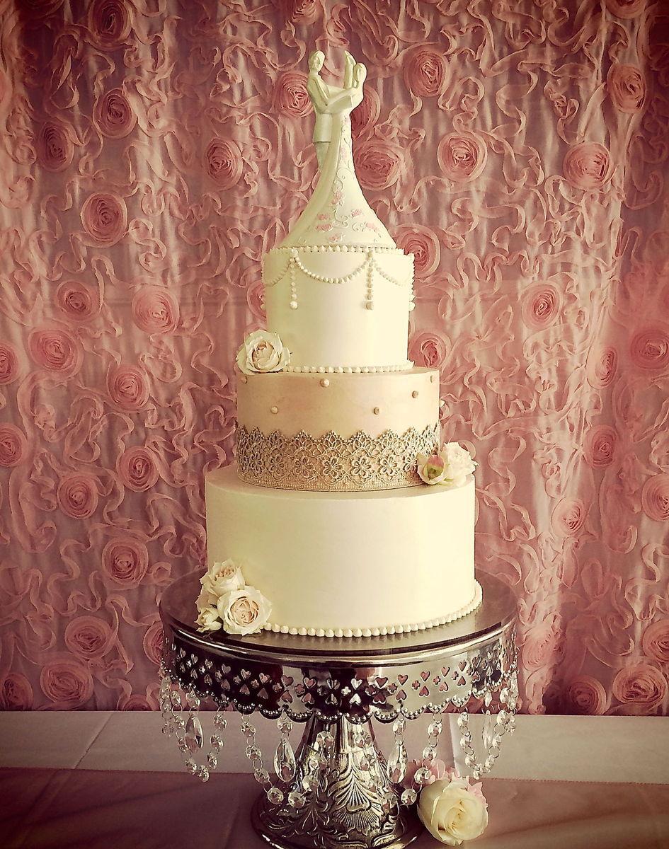 La joconde cakes wedding cake oregon portland and for Wedding dress rentals portland oregon