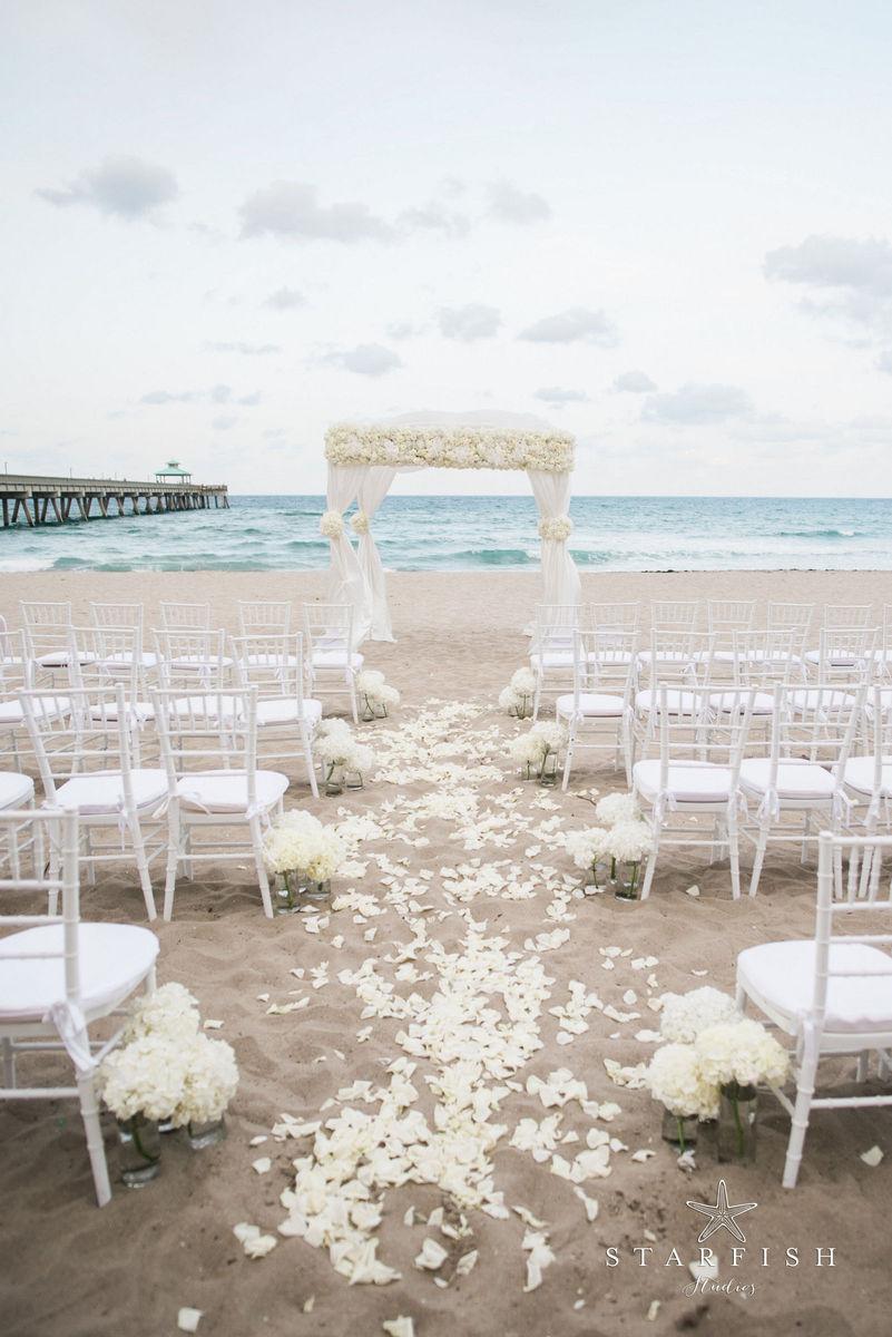 Wyndham Deerfield Beach Resort Wedding Ceremony