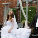 130x130 sq 1420658570398 snow day wedding bride groom eating snow