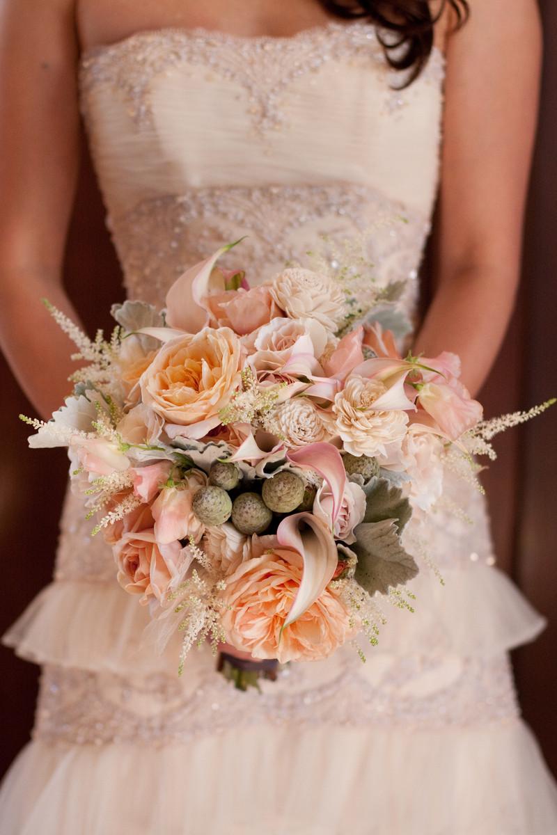 Asiel design wedding flowers california san francisco for Bouquet chic