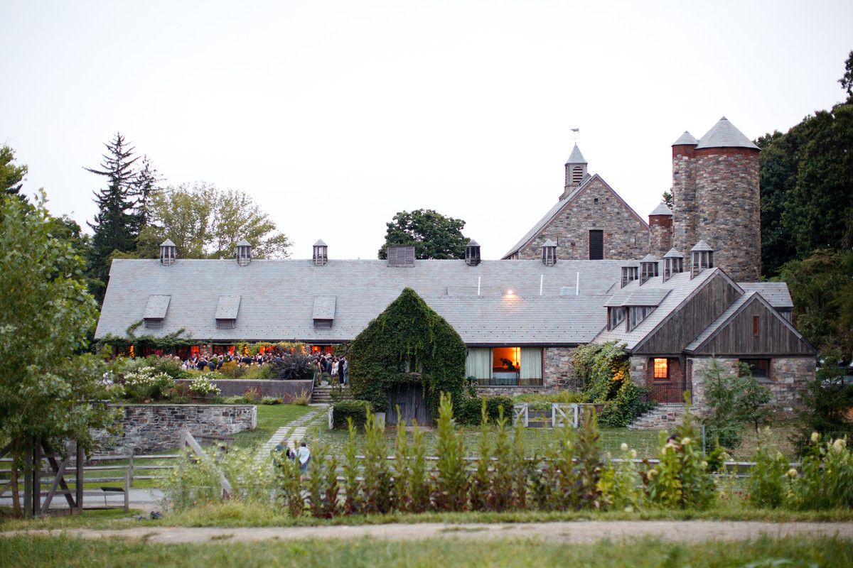 Blue Hill At Stone Barns Wedding Ceremony Amp Reception Venue New York Westchester Western