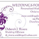 130x130 sq 1358728653624 weddingforyoubizcardpurplevista