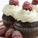 130x130 sq 1391197840478 chocolate raspberry cupcak