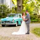 130x130 sq 1427775082250 couple standing in front of a classic car the ivy