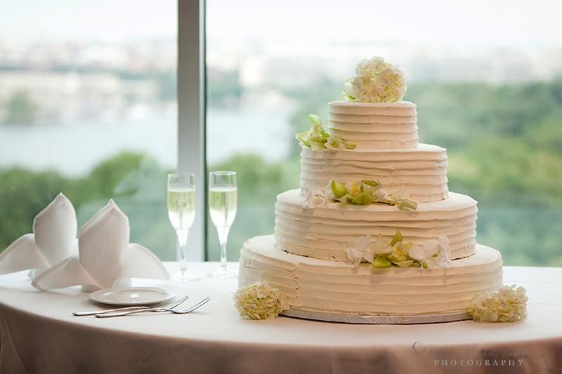 Alexandria Pastry Shop Wedding Cake