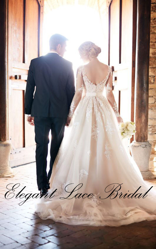 Elegant lace bridal wedding dress attire california for Wedding dresses in san francisco