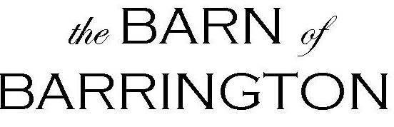 The Barn of Barrington, Wedding Ceremony & Reception Venue ...