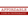 Affordable Video & Photography