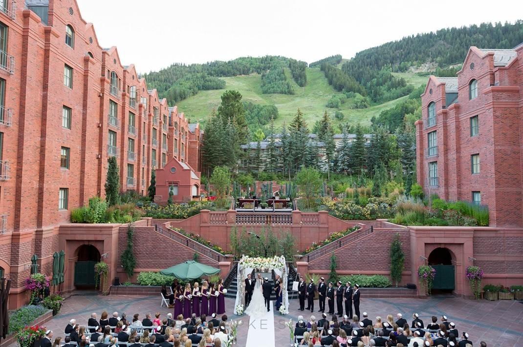 The St Regis Aspen Resort Wedding Ceremony Amp Reception