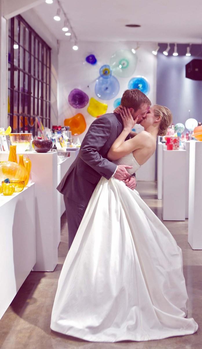 Third Degree Glass Factory Wedding Ceremony Amp Reception Venue Missouri