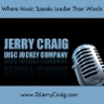 Jerry Craig Disc Jockey Entertainment