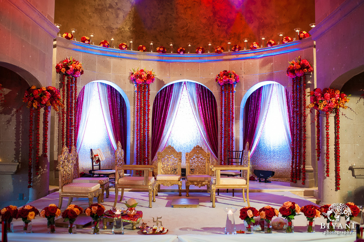 Mandap creations wedding flowers wedding unique services for Decoration vendors