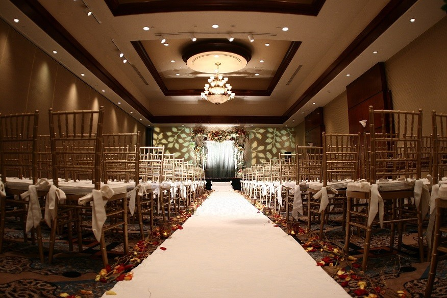 Hilton Woodland Hills Los Angeles Wedding Ceremony