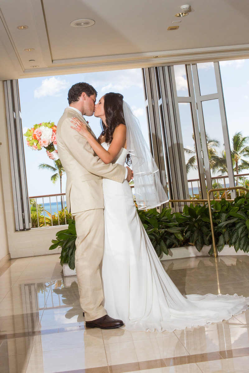 Fred and kate events wedding planning hawaii honolulu for Honolulu wedding dress rental