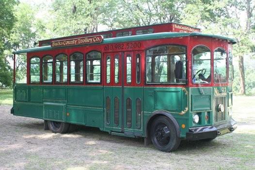 Bucks County Trolley Co Wedding Transportation