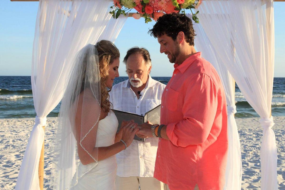 Walton island elgin wedding