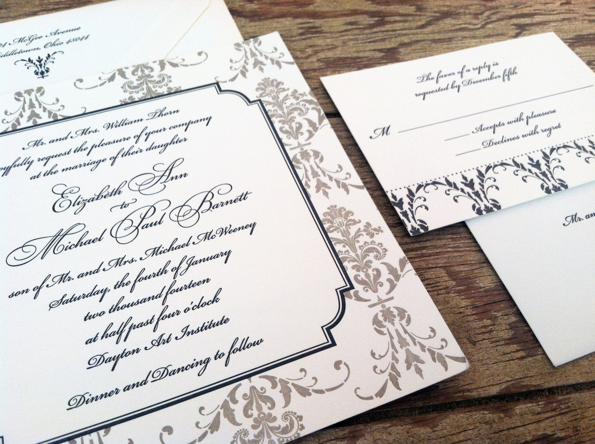 Wedding Invitations Dayton Ohio