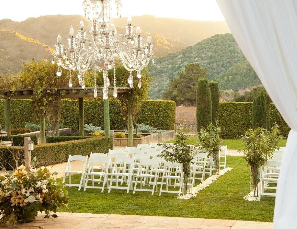 Bernardus lodge spa wedding ceremony reception venue for Places to get married in california