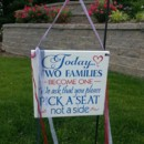 130x130 sq 1417727154314 today two families become one ceremony sign