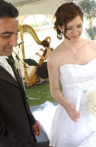 Harp and lucy wedding