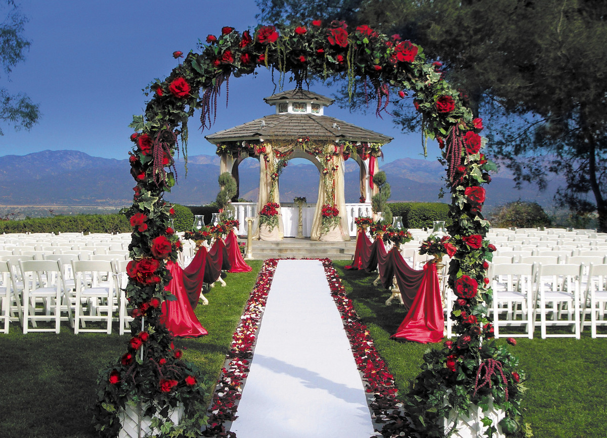 Pacific Palms Resort Wedding Ceremony Amp Reception Venue Wedding Rehearsal Dinner Location
