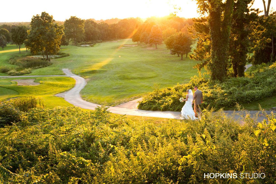 Lake Michigan Hills Golf Club Wedding Ceremony
