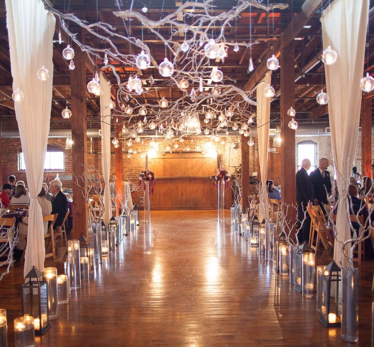 The cotton warehouse photos ceremony reception venue for Wedding dresses for rent in atlanta ga