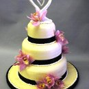 130x130 sq 1295508035012 weddingcakelilaclilies