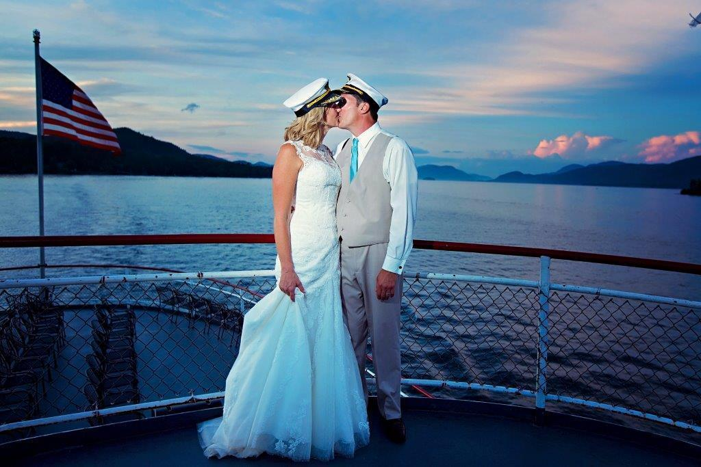Lake George Steamboat Company Wedding Ceremony