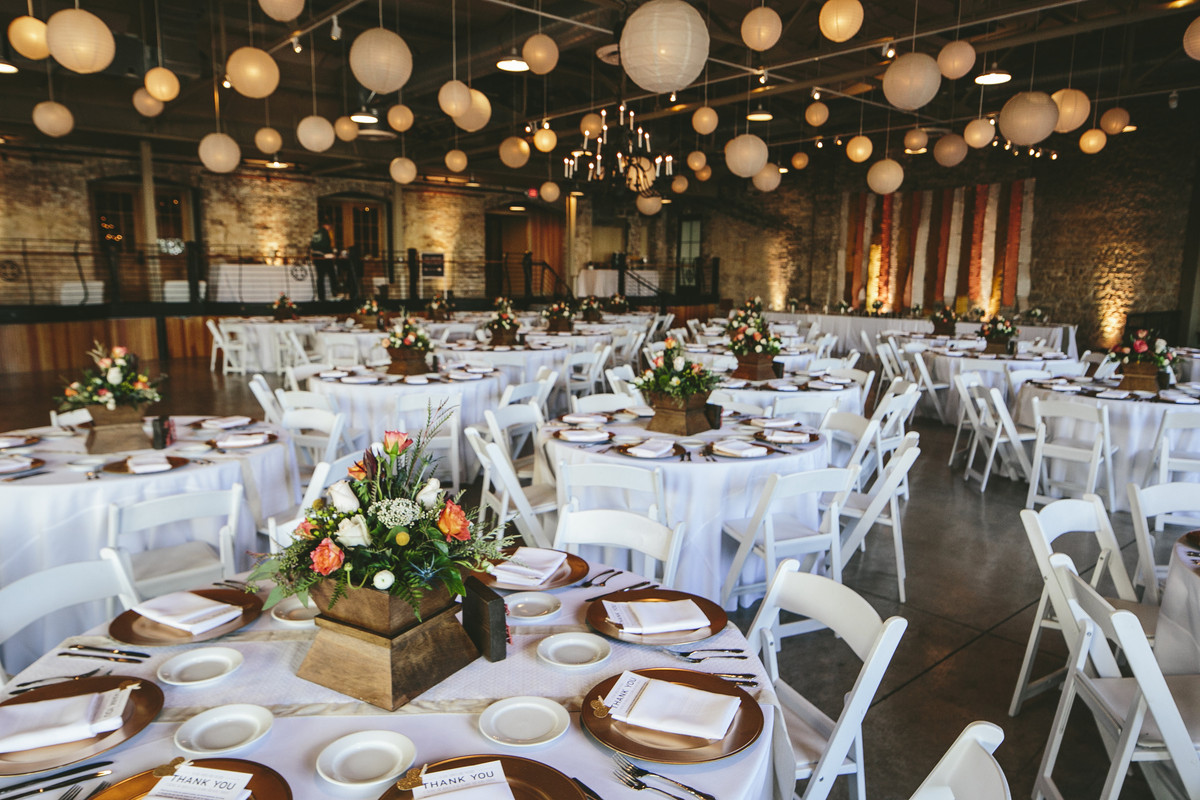 Prairie Street Brewhouse, Wedding Ceremony & Reception
