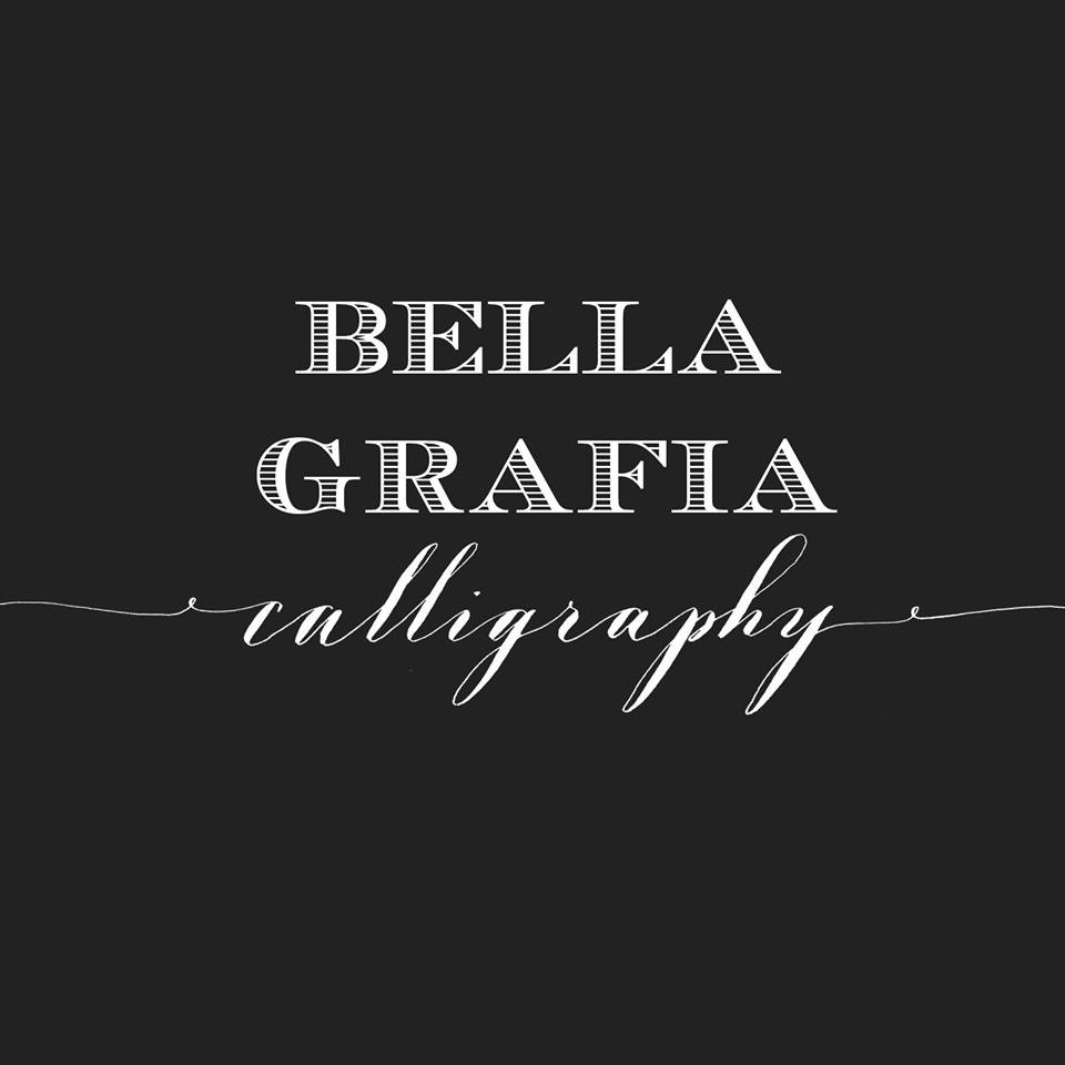 Bella grafia calligraphy photos unique services other Calligraphy baltimore