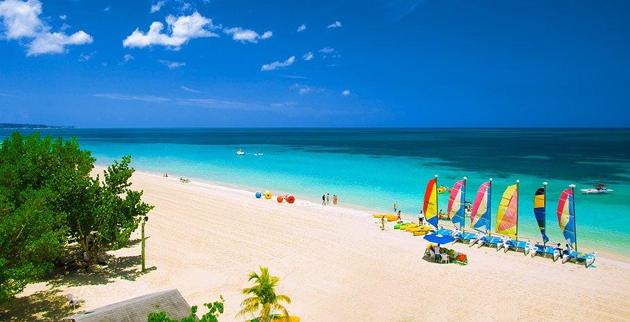 Beaches Negril Map Beaches Negril Location Jamaica Jamaica