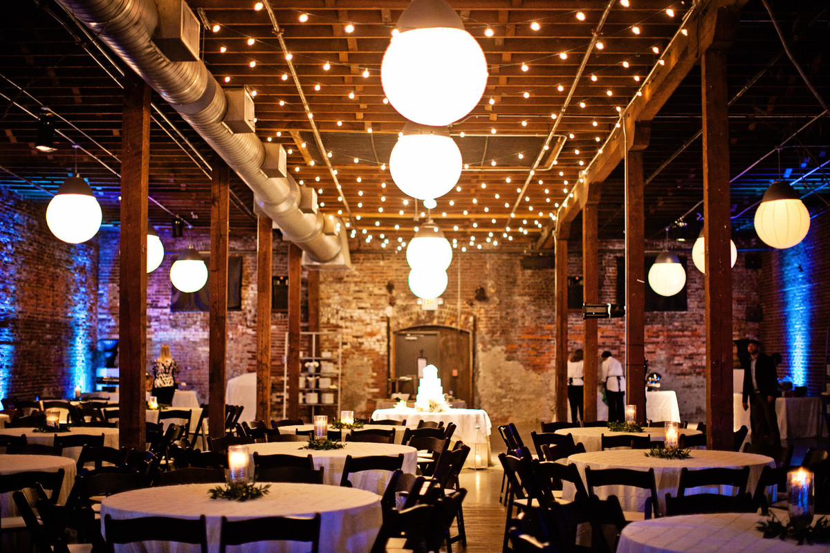 B&A Warehouse, Wedding Catering, Wedding Ceremony