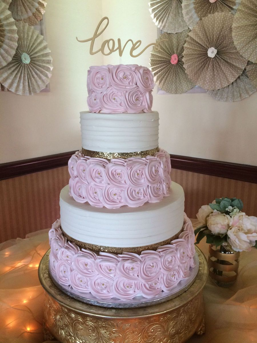 Cakes By Mindy At Receptions Wedding Cake Ohio