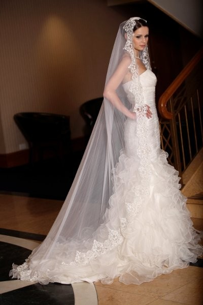Wedding Dresses Yonkers Ny : Natalle silk wedding veils dress attire new