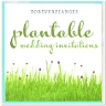 ForeverFiances Plantable Invitations