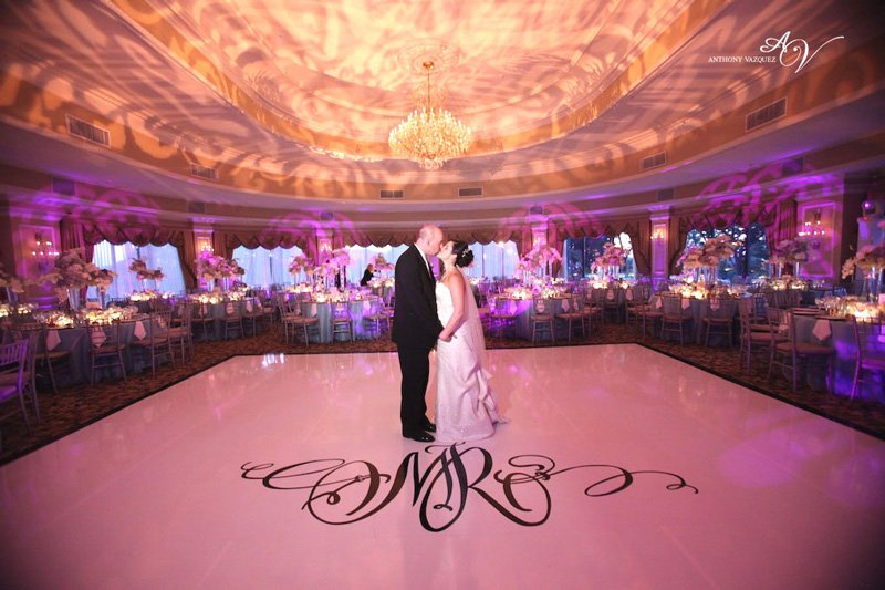Seamless white dance floors wedding event rentals for Rent wedding dress orange county