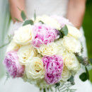 130x130 sq 1413926241760 pink peony and white rose bridal bouquet flowers b